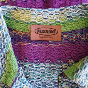Missoni Tops - Missoni Zig Zag Knit Top